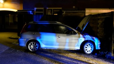 Photo of Autobrand, politie doet oproep Burgernet