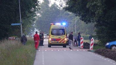 Photo of Brommer te water, bestuurder gewond