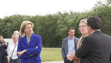 Photo of Den Helder spreekt kandidaat-lijsttrekker CDA Mona Keijzer 'buitengewoon aan' (video)
