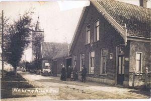 Dorpsstraat 19 in Haringhuizen, anno 1920.