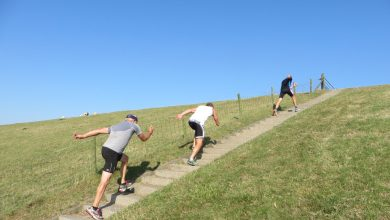 Photo of Schaatsdroogtrainingen in de openlucht met Sport Nu