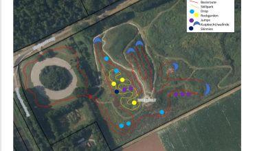 Photo of Nieuw mountainbikeparcours in aanleg