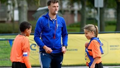 Photo of Bovenbouwers basisschool in sportief duel