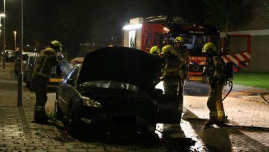 Photo of Auto uitgebrand in Schoenerstraat