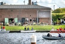 Photo of Drijf-in bioscoop Fort Westoever met lekker zonnetje