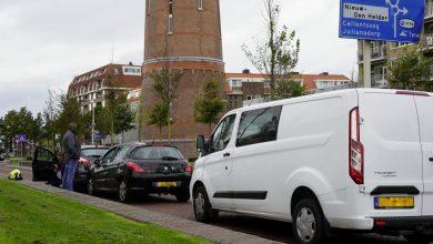 Photo of Drie auto's beschadigd bij aanrijding Middenweg