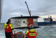 Photo of KNRM Den Oever redt opvarenden