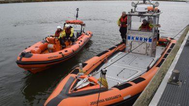 Photo of KNRM Den Oever half jaar met twee boten