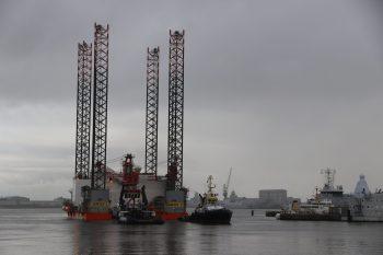SeaFox 2 komt aan in Den Helder.