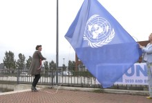 Photo of Vlag in top voor 75-jarige VN (video)