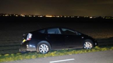 Photo of Auto bijna in de sloot op de Zanddijk