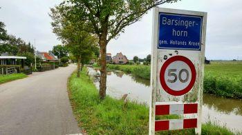 Barsingerhorn, een lintdorp met een lengte van drie kilometer