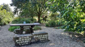 De pluktuin bij Stroe, een oase van rust