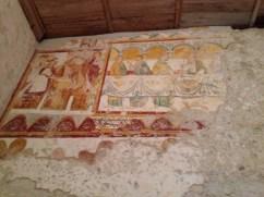 Chapelle St-Georges : lavement des pieds, la Cène