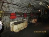 Galerie de mine reconstituée