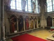 Chapelle des Princes (peintures de prophètes et Pères de l'Eglise)