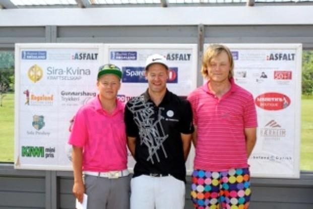 Gøran Sømme Haglund, Glenn Undheim og Arne Ravndal