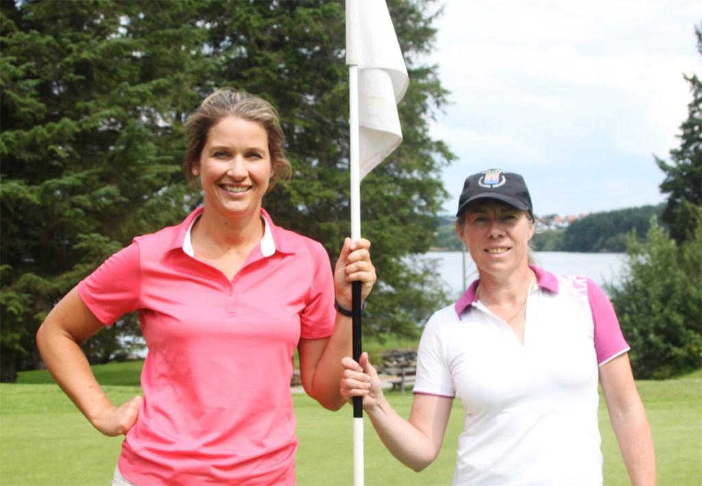 Susanne Jepson og Helene Persson (Helene vant i playoff)