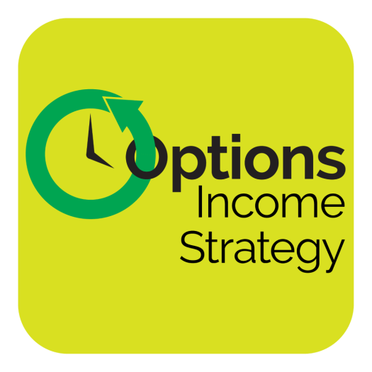 option income strategy in yellow background