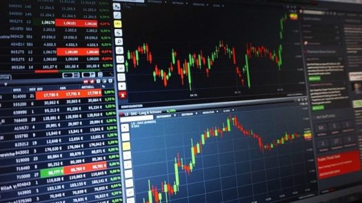 a projection of forex trading