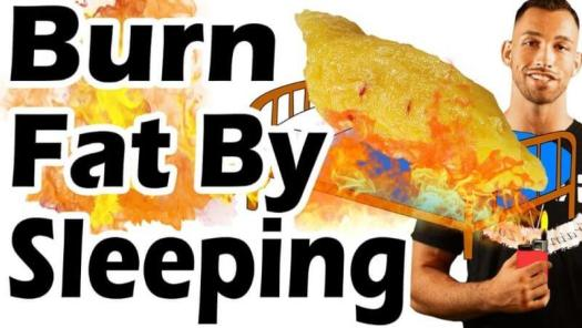 burn weight by sleeping
