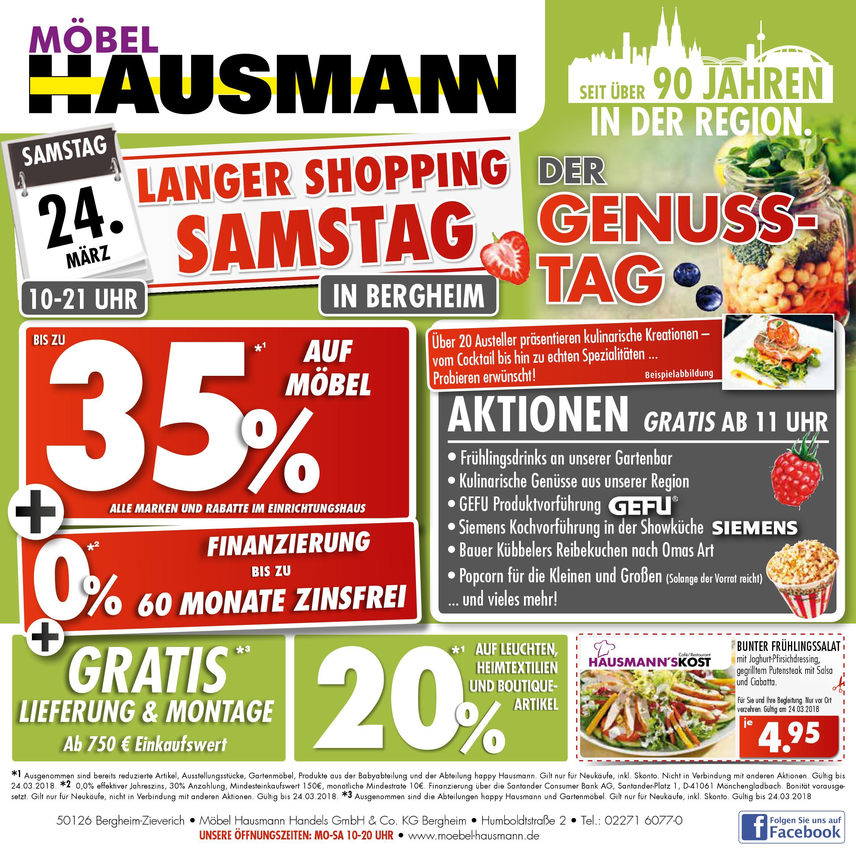 Genusstag Bei Mobel Hausmann Regiotv Rhein Erft