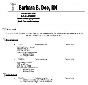 nursing resume skills and abilities professional team of writers ...