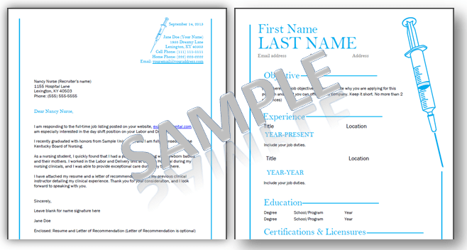remember you can customize the templates below and change the rn