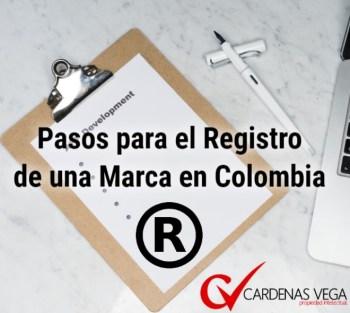 Pasos Registro de Marca Colombia