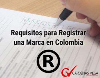 Requisitos Registrar Marca Colombia