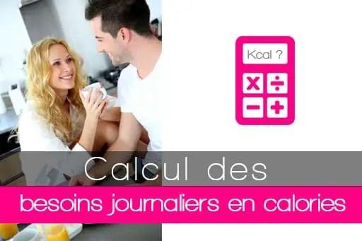 Calcul Du Besoin Journalier En Calories D 233 Penses
