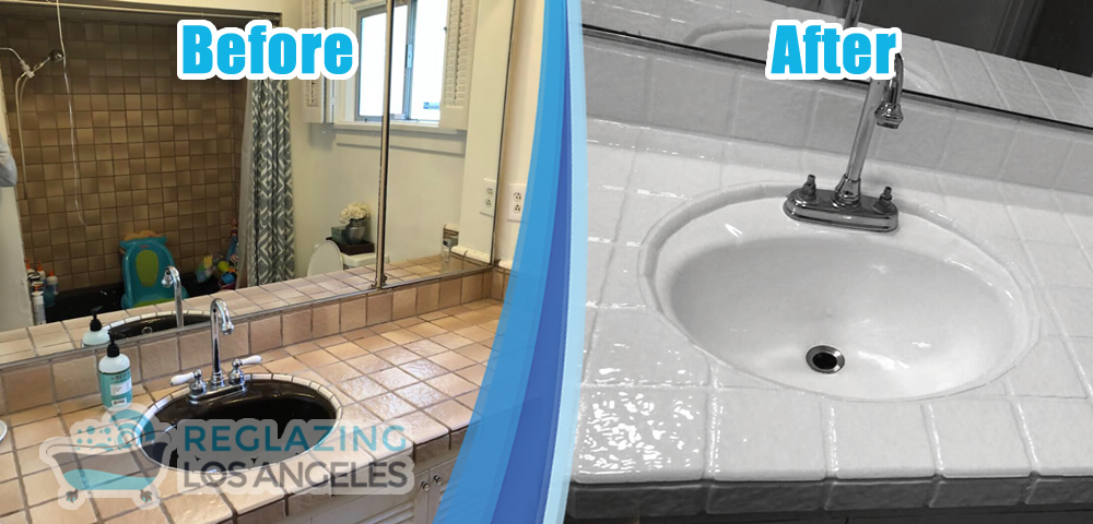 reglazing los angeles before and