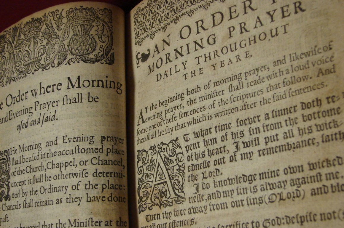 How to use the Book of Common Prayer for daily devotions
