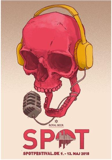 SPOT Festival plakat