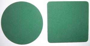 Blank Forest Green Coasters