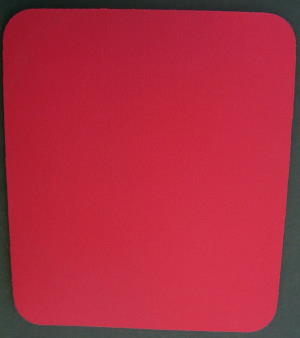 Blank Red Mouse Pads