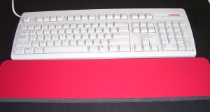 Blank Red Wrist Rests