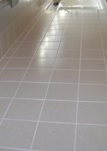 Trust Regrout Systems for your Tile Repair and Grout Cleaning needs     Finished Grout cleaning and repair job in Orange County