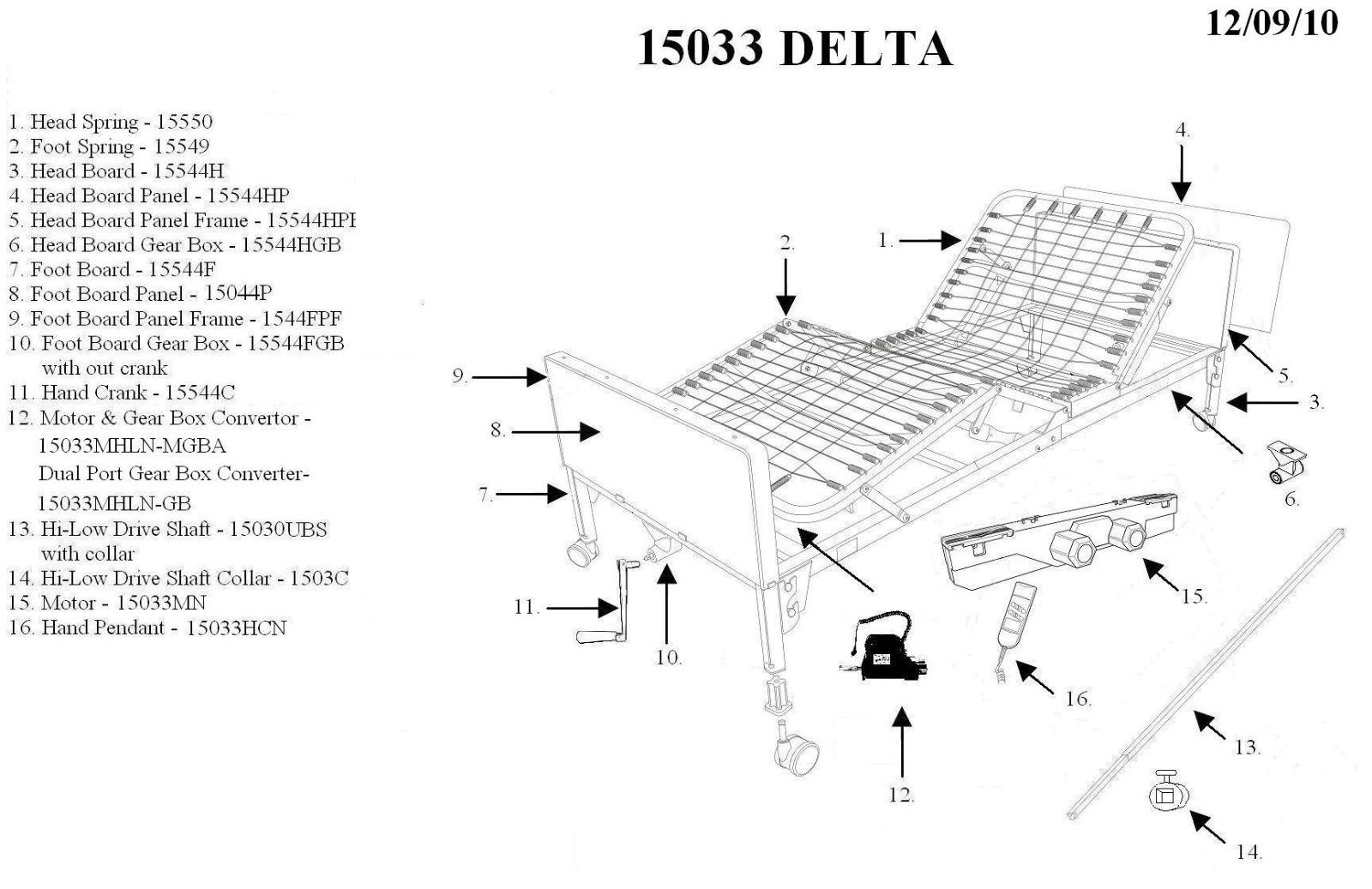 Drive Medical Delta Ultra Light Full Electric