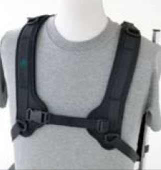 Bodypoint Wheelchair H Style Shoulder Harnesses
