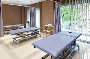 Behandlings rum Nobel Medical center rehabresor turkiet