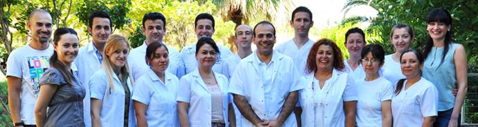 Nobel Medical center personal för barngruppen rehabresor turkiet