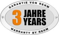 3 Jahre REHM Hersteller Garantie auf MIG/MAG-Schweißgerät SYNERGIC.PRO² 170 bis 310