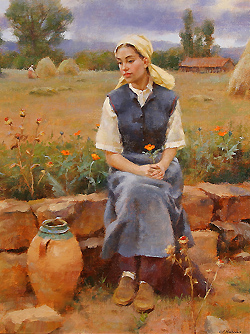 Daydreams by Gregory Frank Harris - 18 x 14 inches Signed Signed, titled and dated on the reverse