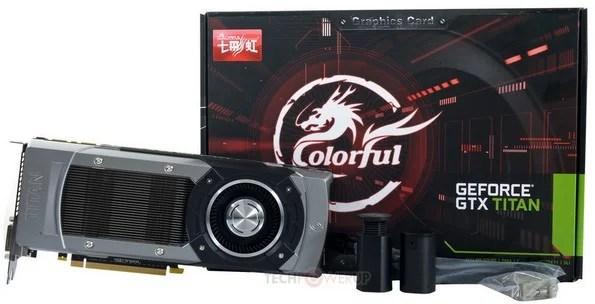 Colorful presenta la GeForce GTX Titan OC