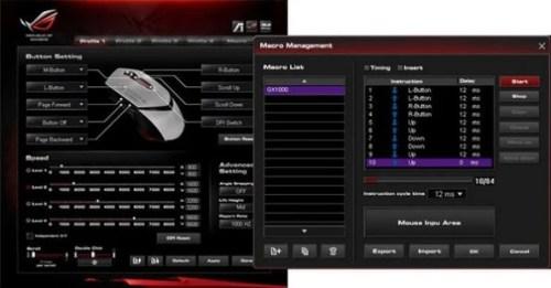 Asus ROG Eagle Eye GX1000: mouse Gaming da 8200 DPI!