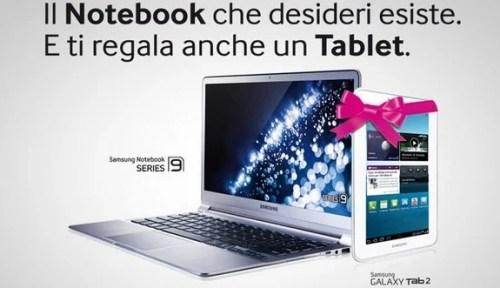 Samsung regala il Galaxy Tab 2 7.0 WiFi per ogni Ultrabook acquistato.