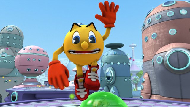 Namco Bandai annuncia Pac-Man and the Ghostly Adventures