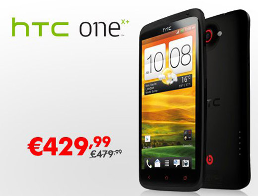 HTC One X+ a 429€ su Expansys