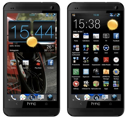 HTC One: disponibile la nuova ROM Rayglobe 4.5 Made in Italy